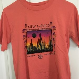 Pink New Mexico T-shirt